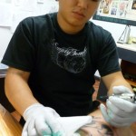 Tattoo Honolulu artist Bryce Luning