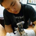 tattoo artist Bryce